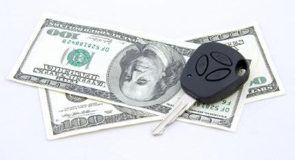 car keys money