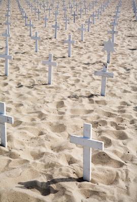 Iraq sand graves