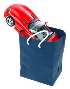car shopping bag
