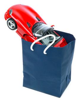 car shopping bag
